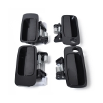 4 PCS Car Front Rear Right Left Outside Door Handles 69220-33040FL / 69210-33040FR / 69240-33030RL / 69230-33030RR for Toyota Camry 1997-2001