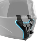 Helmet Belt Mount for GoPro HERO7 /6 /5 /5 Session /4 Session /4 /3+ /3 /2 /1, Xiaoyi and Other Action Cameras