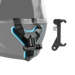 Helmet Belt Mount +  Phone Clamp Mount for GoPro HERO7 /6 /5 /5 Session /4 Session /4 /3+ /3 /2 /1, Xiaoyi and Other Action Cameras