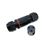 XYS20 IP68 Waterproof 3 Pin Straight Cable Connector