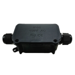 IP66 Waterproof Two-way Junction Box for Protecting Circuit Board
