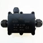G713 IP68 Waterproof Three-way Junction Box for Protecting Circuit Board