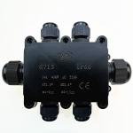 G713 IP68 Waterproof Six-way Junction Box for Protecting Circuit Board