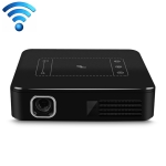 D13 854 x 480 Android 7.1.2 Mini Pocket Projector 4K DLP Smart Handheld LED WIFI Home Theater Projector,  Support USB / TF / HDMI