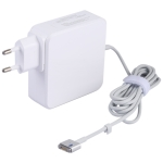 85W AC Power Adapter Portable Charger with 1.8m Charging Cable, EU Plug (White)