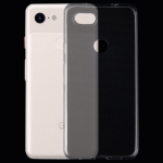 0.75mm Ultrathin Transparent TPU Soft Protective Case for Google Pixel 3 Lite