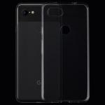 0.75mm Ultrathin Transparent TPU Soft Protective Case for Google Pixel 3 Lite XL