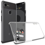 IMAK Wing II Wear-resisting Crystal Pro Protective Case for Google Pixel 3 XL, with Screen Sticker (Transparent)