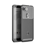 Carbon Fiber Texture Shockproof TPU Case for Google Pixel 3a (Black)