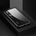 USAMS Mant Series Shockproof TPU + PC Case for Huawei P30(Black)