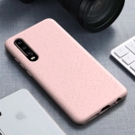Starry Series Shockproof  Straw Material + TPU Protective Case for Huawei P30(Pink)