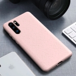 Starry Series Shockproof  Straw Material + TPU Protective Case for Huawei P30 Pro (Pink)