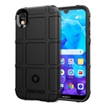 Shockproof Protector Cover Full Coverage Silicone Case for Huawei Y5 (2019) (Black)