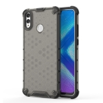 Shockproof Honeycomb PC + TPU Case for Huawei Honor 8X(Black)