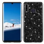 Glitter Powder Shockproof TPU Case for Huawei P30 Lite / nova 4e (Black)