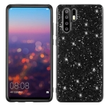 Glitter Powder Shockproof TPU Case for Huawei P30 Pro (Black)