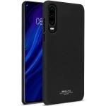 IMAK Matte Touch Cowboy PC Case for Huawei P30 (Black)