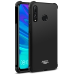 IMAK All-inclusive Shockproof Airbag TPU Case for Huawei P Smart+ 2019 / Enjoy 9s, with Screen Protector (Black)