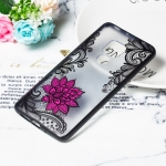 Small Lotus Pattern Embossed Lace + PC Case for Huawei Mate 20