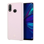 DUX DUCIS Skin Lite Series Ultra-thin Shockproof PU Case for Huawei P Smart (2019) (Pink)
