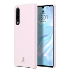DUX DUCIS Skin Lite Series Ultra-thin Shockproof PU Case for Huawei P30 (Pink)