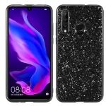Glitter Powder Shockproof TPU Protective Case for Huawei Nova 4 (Black)