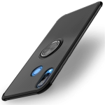 Shockproof TPU Protective Case for Huawei Nova 3i, with Holder (Black)