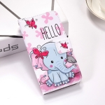 Butterfly Elephant Pattern Colored Drawing Horizontal Flip Leather Case for Huawei Nova 4, with Holder & Card Slots & Wallet & Lanyard