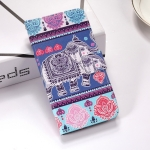 Elephant Pattern Colored Drawing Horizontal Flip Leather Case for Huawei P30 Lite, with Holder & Card Slots & Wallet & Lanyard