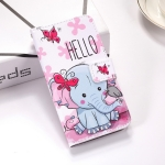 Butterfly Elephant Pattern Colored Drawing Horizontal Flip Leather Case for Huawei P30 Pro, with Holder & Card Slots & Wallet & Lanyard