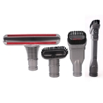4 PCS Household Wireless Vacuum Cleaner Brush Head Parts Accessories for Dyson V6