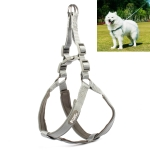 Tuffhound 1606 Adjustable Dog Harness Lead Leash Collar Belt,Size:M, 2x(46-56)+(57-64)cm(Grey)