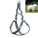 Tuffhound 1606 Adjustable Dog Harness Lead Leash Collar Belt,Size:XL, 2.5x(66-82)+(72-88)cm(Blue)