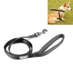 Tuffhound 1608 Adjustable Dog Harness Lead Leash Collar Belt,Size:M, 2x120cm (Black)