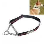 Tuffhound 1704 ,Pet Anti-bite Collar Dog Chain, Size:S,1.5x(30-50)cm