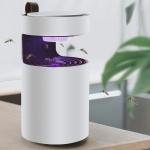 UV Light Inhaled Mosquito Killer Lamp USB Electric Bug Insect Killer Lights Pest Repeller (Wine Red)