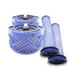 XD955 4 in 1 Rear Filter Core + Pre-filter for Dyson V6 Vacuum Cleaner Accessories