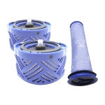 XD957 3 in 1 Rear Filter Core x 2 + Pre-filter for Dyson V6 Vacuum Cleaner Accessories