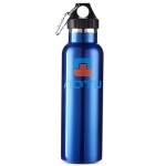 Aotu AT6646 Outdoor Travel Kettle Car Stainless Steel Thermos Bottle (Blue)