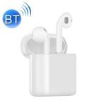 i20 Wireless Bullet Window Bluetooth 5.0 Headset (White)