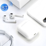 i18 Wireless Sport Bilateral Stereo Bluetooth 5.0 Headset (White)