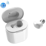 S15 HIFI Touch Mini Bluetooth Wireless Earphone with Charging Box (White)