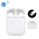 i10 touch-tws Bluetooth Headset 5.0 Stereo Tune Call Support Touch Bluetooth Headset (White)