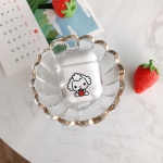 Strawberry Sheep Pattern Shockproof Coloured Drawing PC Protective Case for Apple AirPods