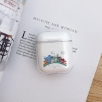 Rainbow Pattern Shockproof Coloured Drawing PC Protective Case for Apple AirPods