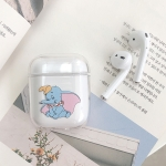 Dumbo Pattern Shockproof Coloured Drawing PC Protective Case for Apple AirPods