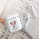 Ball Dumbo Pattern Shockproof Coloured Drawing PC Protective Case for Apple AirPods