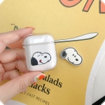 Snoopy Pattern Shockproof Coloured Drawing PC Protective Case for Apple AirPods
