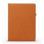 Horizontal Flip Leather Case for iPad 9.7 (2018) & (2017) & Air 2 & Air , with Wallet & Card Slot & Holder (Orange)
