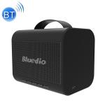 Blue String T Share 2.0 Bluetooth 5.0 Waterproof HiFi Subwoofer Wireless Bluetooth Portable Speaker (Black)